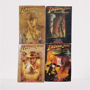 Scholastic Indiana Jones 4 Book Set